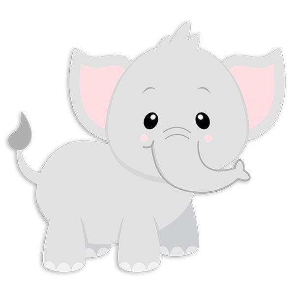 stickers for kids elephant jumbo