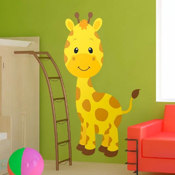 Stickers for Kids: Giraffe happy