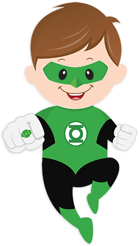 Kids Wall Sticker Green Lantern Muraldecal Com
