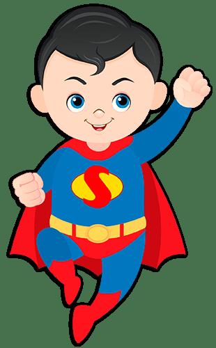Kids wall sticker Superman flying | MuralDecal.com