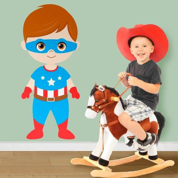 Stickers for Kids: Captain America