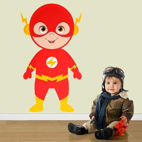 Stickers for Kids: Flash