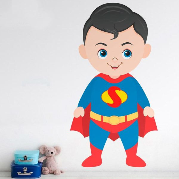 Stickers for Kids: Superman