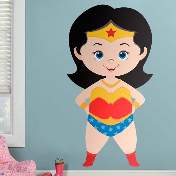 Stickers for Kids: Wonderwoman
