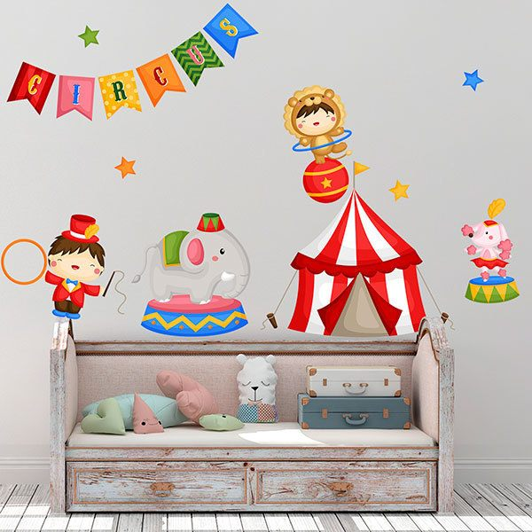 Stickers for Kids: World Circus Kit