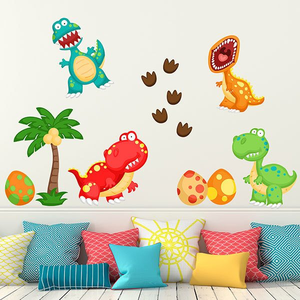Stickers for Kids: Dinosaur Kit