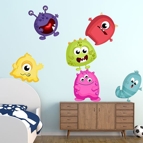 Stickers for Kids: Monster Kit