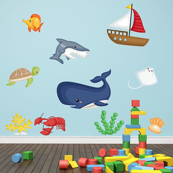 Stickers for Kids: Kit Cruising the Ocean