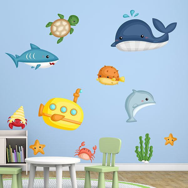 Stickers for Kids: Exploring Under the Sea Kit