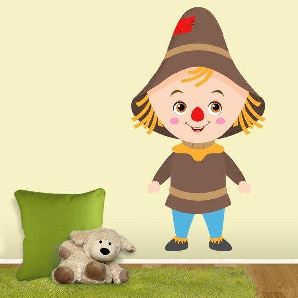 Stickers for Kids: Scarecrow Wizard of Oz