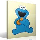 Stickers for Kids: Cookie Monster 4