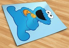 Stickers for Kids: Cookie Monster 5