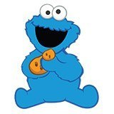 Stickers for Kids: Cookie Monster 6