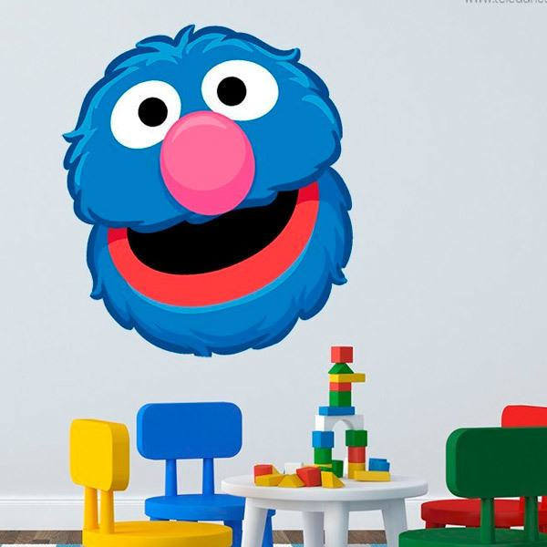 Stickers for Kids: Grover head