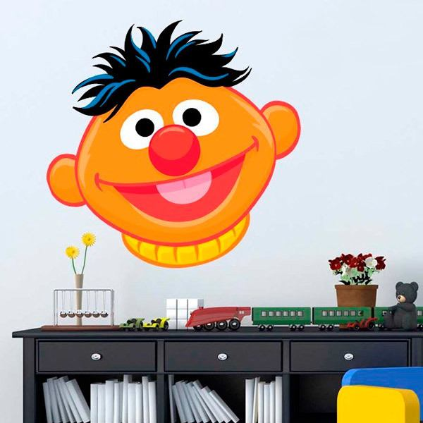 Stickers for Kids: Head of Ernie