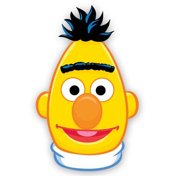 Stickers For Kids Face Bert