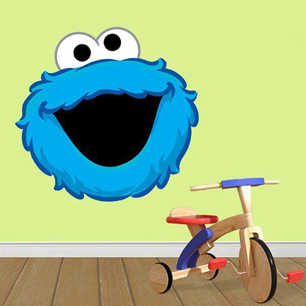 Stickers for Kids: Face Cookie Monster