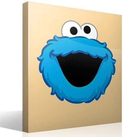 Stickers for Kids: Monster cookies laughter
