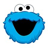 Stickers for Kids: Monster cookies laughter 6