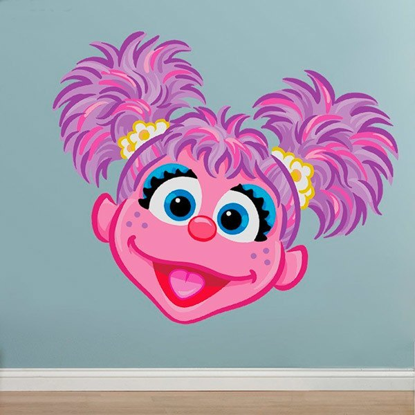 Stickers for Kids: Head of Abby Cadabby