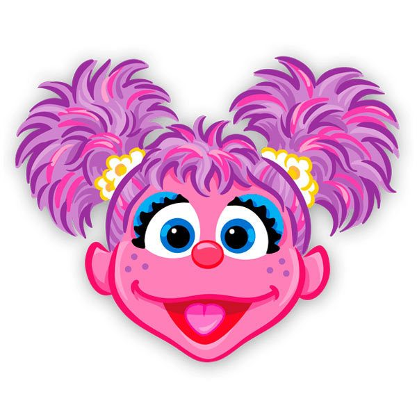It is a picture of Clever Abby Cadabby Clipart