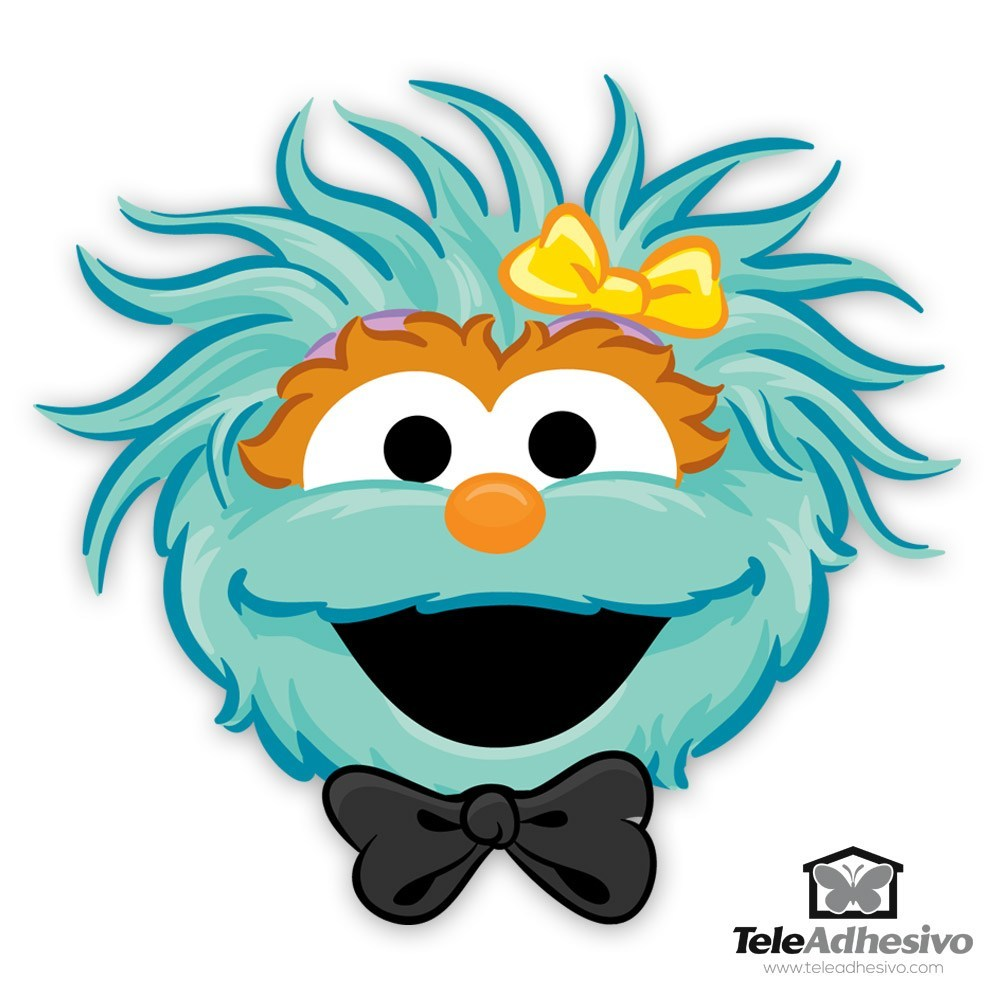 sesame street rosita face pictures to pin on pinterest