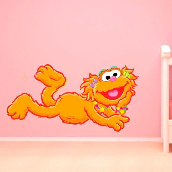 Stickers for Kids: Zoe of Sesame Street