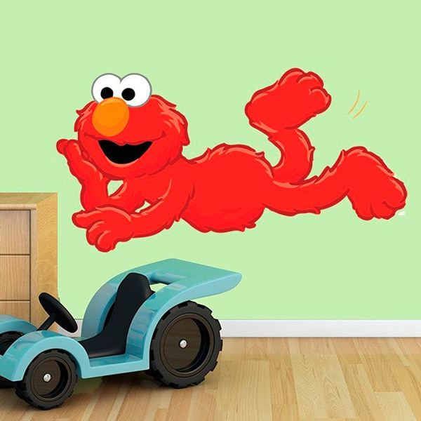 Stickers for Kids: Elmo lying down