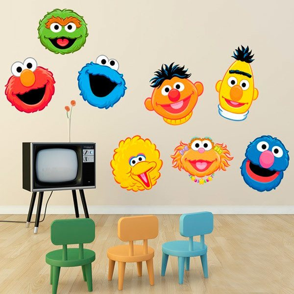Stickers for Kids: Kit Sesame street