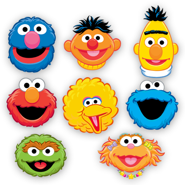 Stickers for Kids: Sesame Street kit