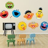 Stickers for Kids: Sesame Street kit 3