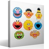 Stickers for Kids: Sesame Street kit 4