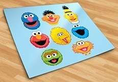 Stickers for Kids: Sesame Street kit 5