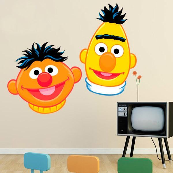 Stickers for Kids: Ernie and Bert 1