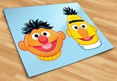 Stickers for Kids: Ernie and Bert 5