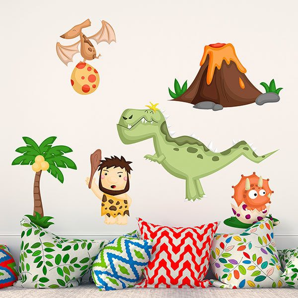 Stickers for Kids: Prehistoric kit