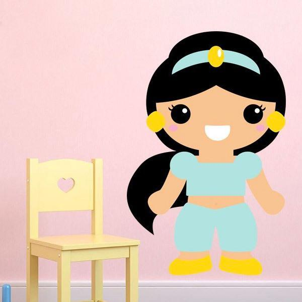 Stickers for Kids: Princess Jasmine