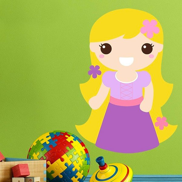 Stickers for Kids: Rapunzel