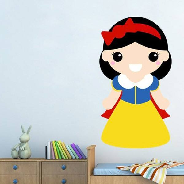 Stickers for Kids: Snow White