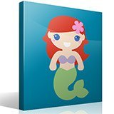 Stickers for Kids: The Little Mermaid 4