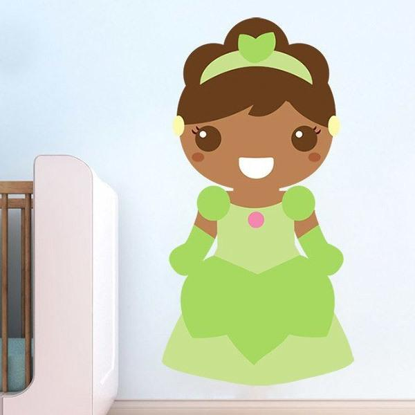 Stickers for Kids: Tiana