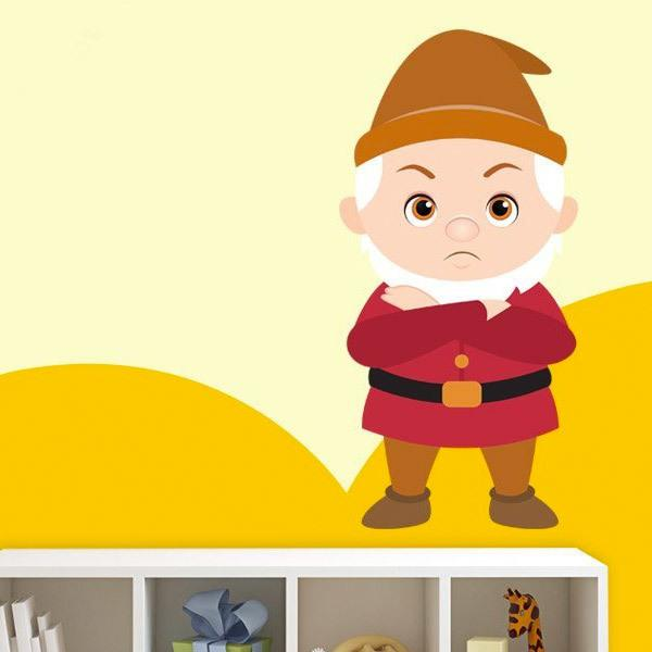 Stickers for Kids: Dwarf Grumpy