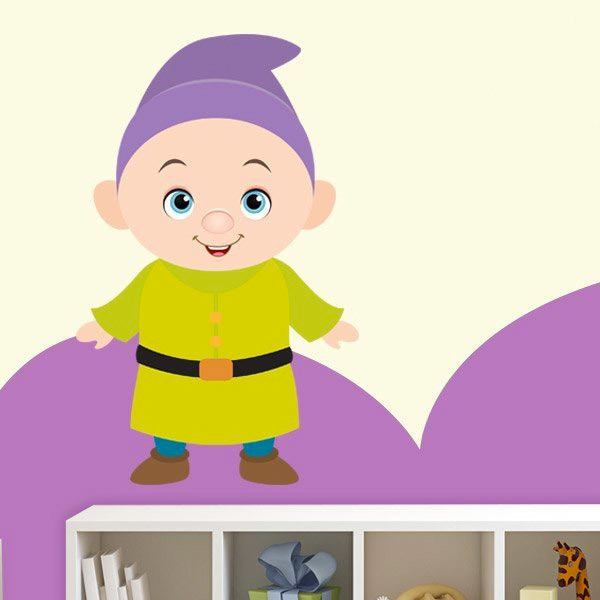 Stickers for Kids: Dwarf Dopey