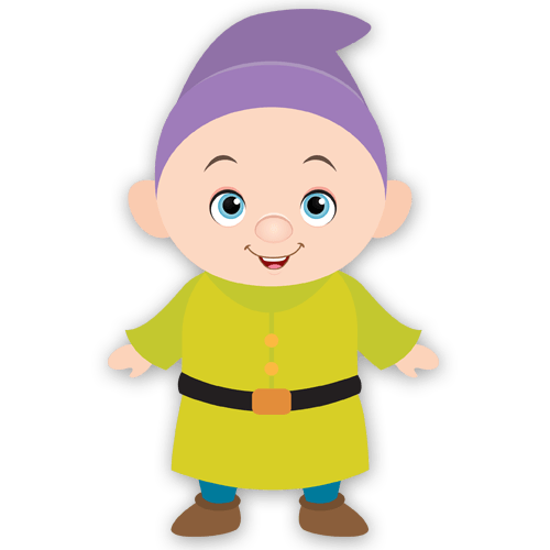 Stickers For Kids Dwarf Dopey