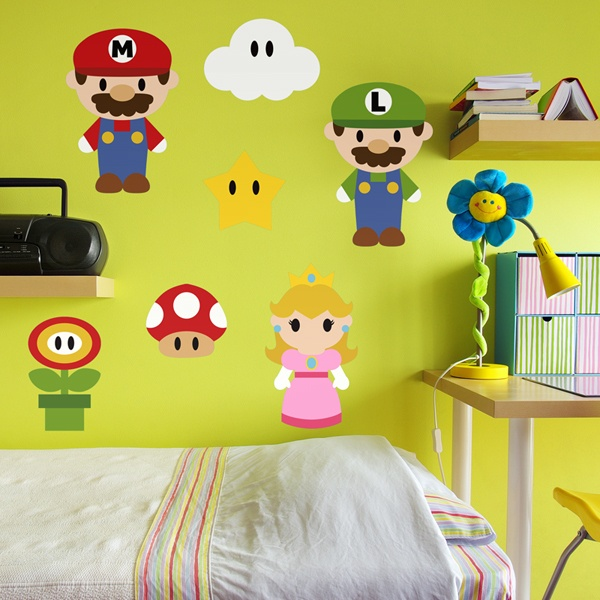 Stickers for Kids: Kit Mario Bros