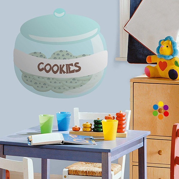 Stickers for Kids: Cookie jar