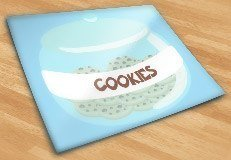 Stickers for Kids: Cookie jar 5