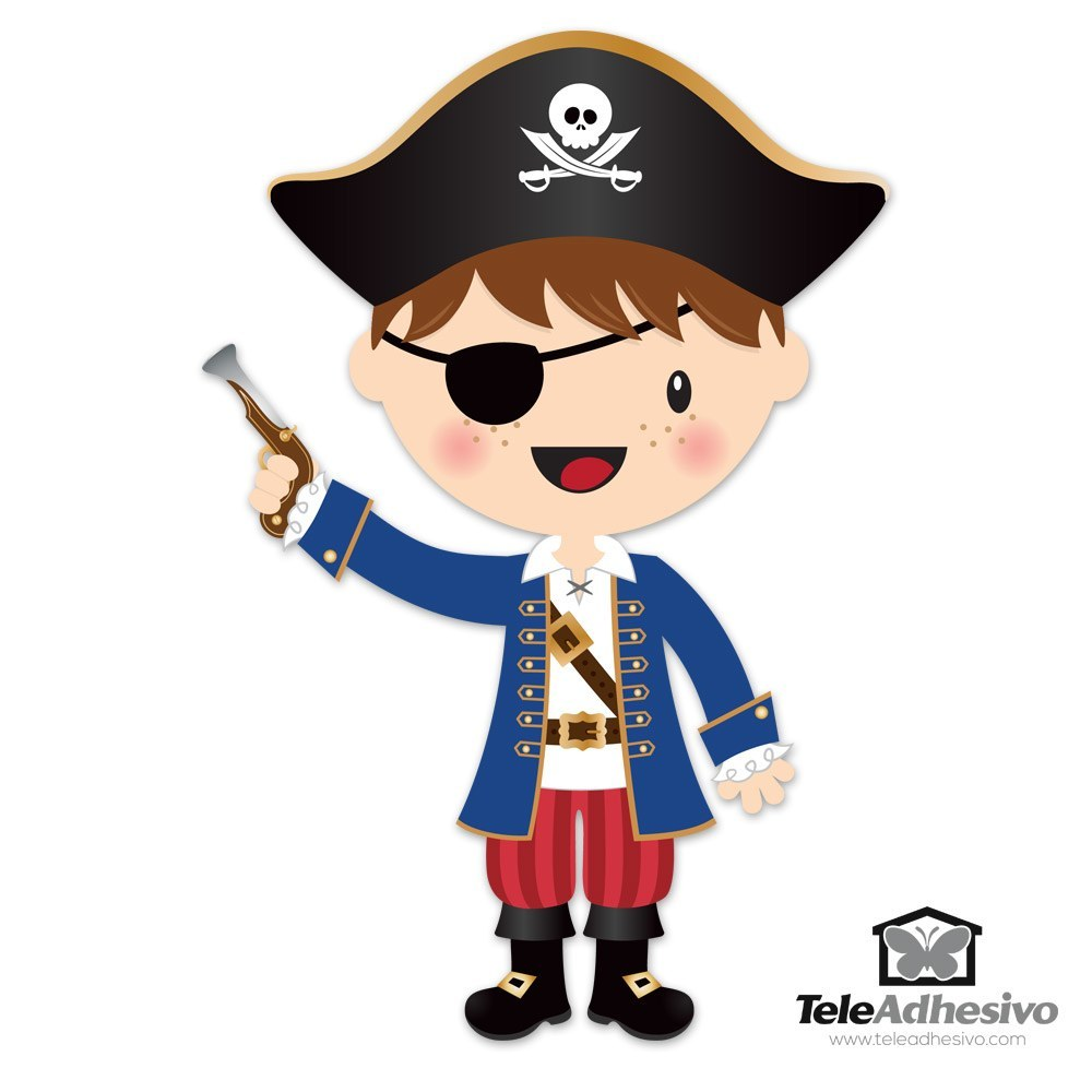 The Little Pirate Gun 18586 on Color By Numbers For Kids