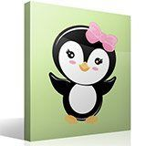 Stickers for Kids: Penguin greeting 4