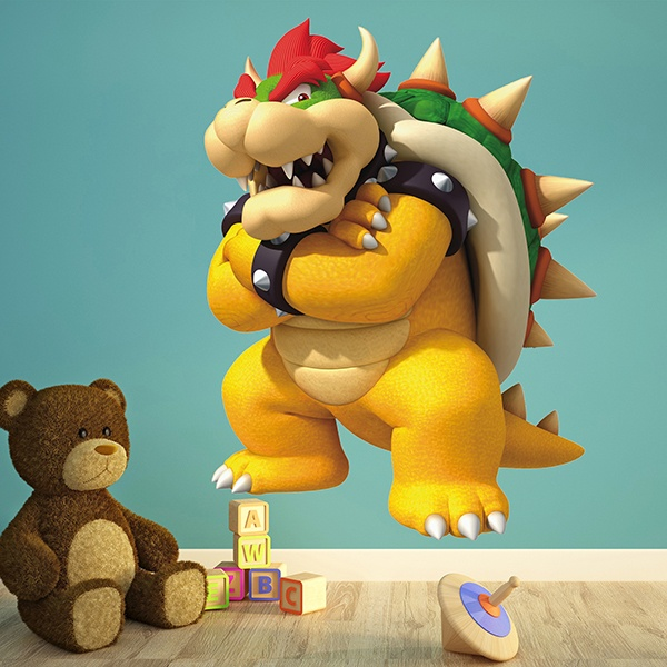Stickers for Kids: King Bowser